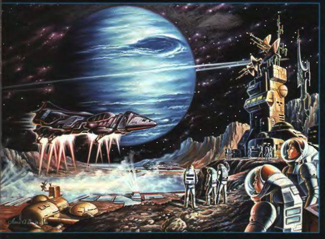 научно фантастическая живопись картинки - Поиск в Google