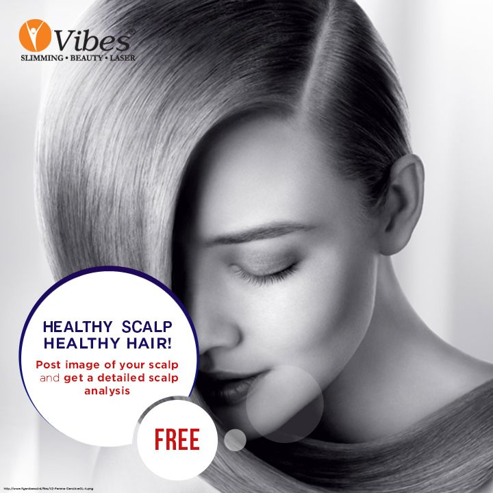 Upload your scalp picture now and #Vibes expert will share a detailed analysis of your scalp for FREE.