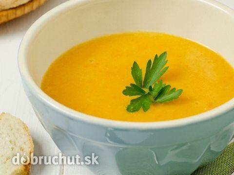 Mrkvovo-pomarančová polievka