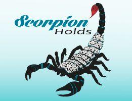 scorpion holds