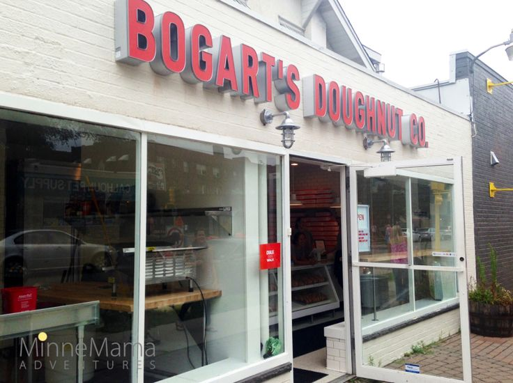 Bogarts Donuts- I've been driving past here on the mornings that I have been driving the kids to school and am intrigued. Can't wait to try!