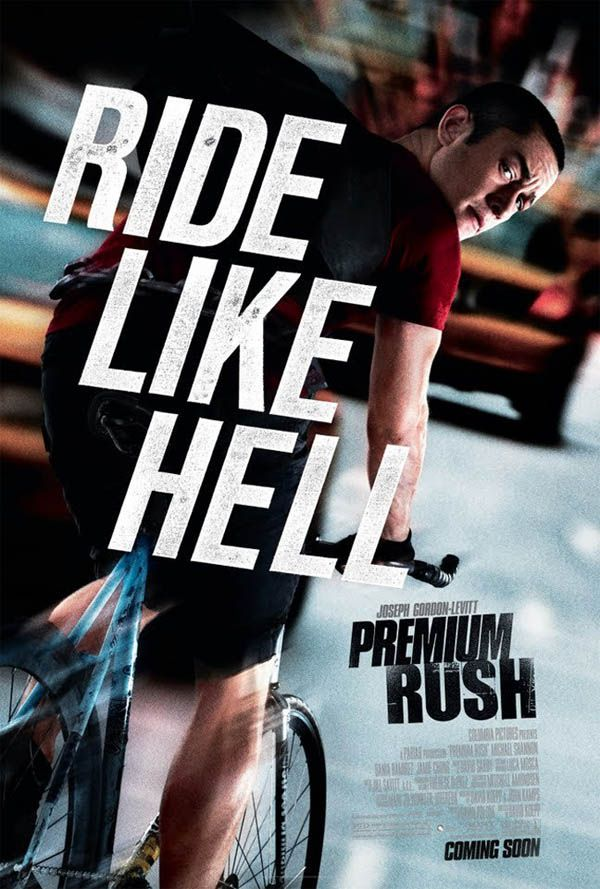 """Premium Rush"" Come to think of it, this is actually a REALLY good setup for a thriller!"