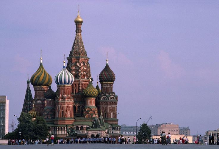 Arquitectura rusa: Moscú, Plaza Roja, Catedral de San Basilio