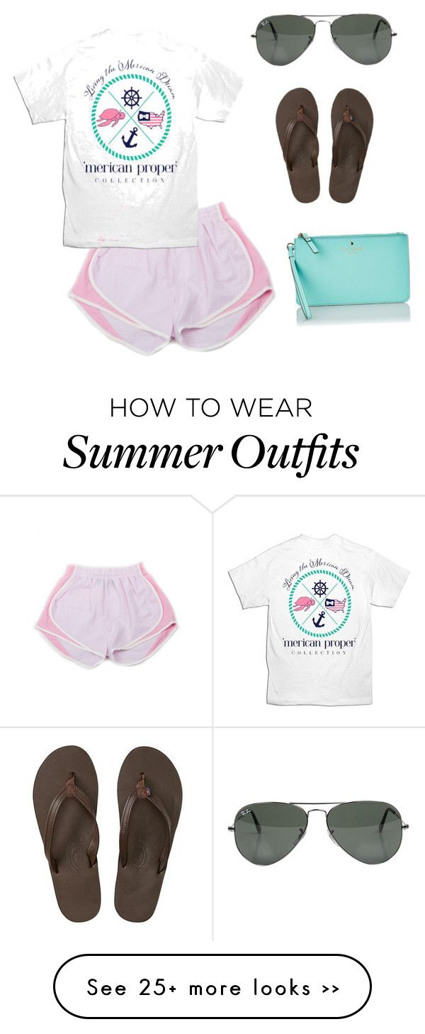 """Casual Summer Outfit #5"" by shayla-poynter on Polyvore"
