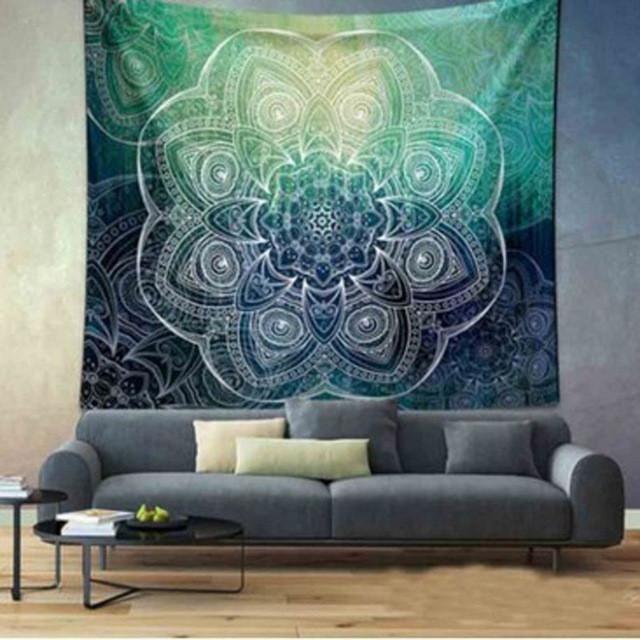 mandala tapestry indian wall hanging tapiz de elefante indio mandala elephant tree tapestry