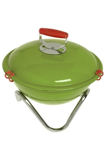 All Up in My Mini Grill in Cilantro | Mod Retro Vintage Kitchen | ModCloth.com - StyleSays: Mini Grill Just, Calling Cilantro, Apt Ideas, Gift Ideas, Mini Grillin, Outdoor, Minis, Kitchen, Cilantro Mini