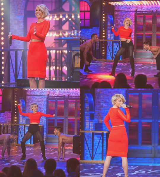 "Lip Sync Battle Gigi Hadid Sweater Blue: Julianne Hough Performing ""I Just Had Sex"" On Lip Sync"