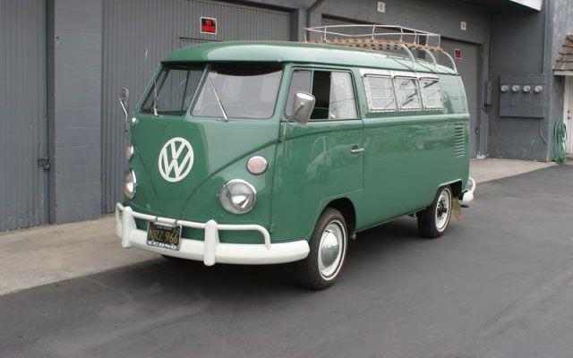 VW Sundial Camper Bus 66   VW Bus