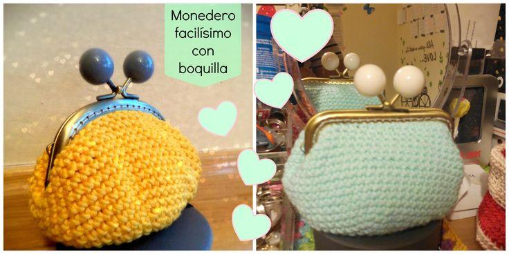 ¡Aprende a hacer un monedero de ganchillo con forro incluido! No te pierdas el paso a paso :) Puedes encontrarme en www.happyganchillo.es