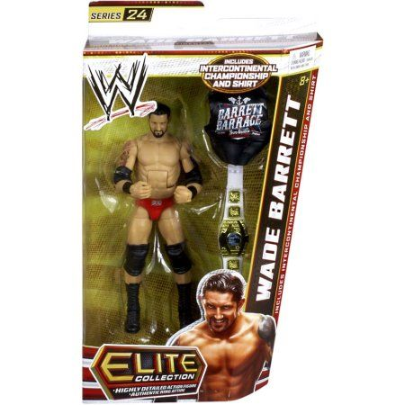 WWE Elite Series Wade Barrett Action Figure, Multicolor