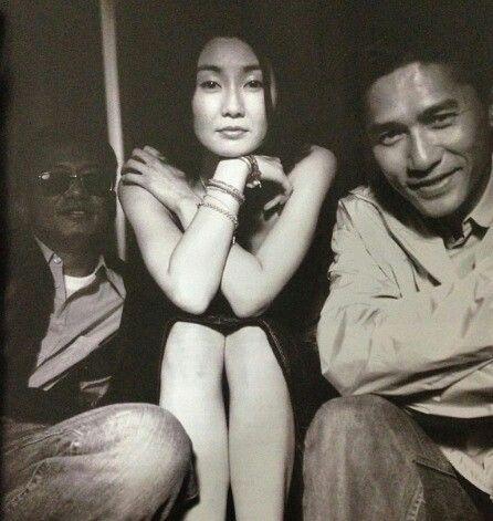 "TATJANA SL on Twitter: ""Wong Kar Wai, Maggie Cheung and Tony Leung. https://t.co/hX5RGB3tCg"""