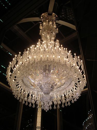 Large Baccarat Crystal Chandelier