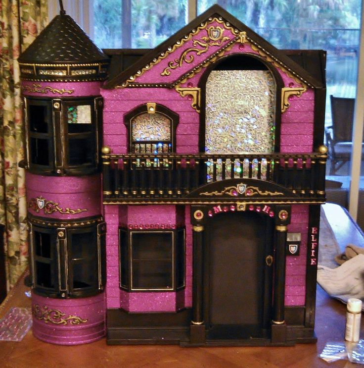 11 Best Images About Barbie Dream Home Monster High
