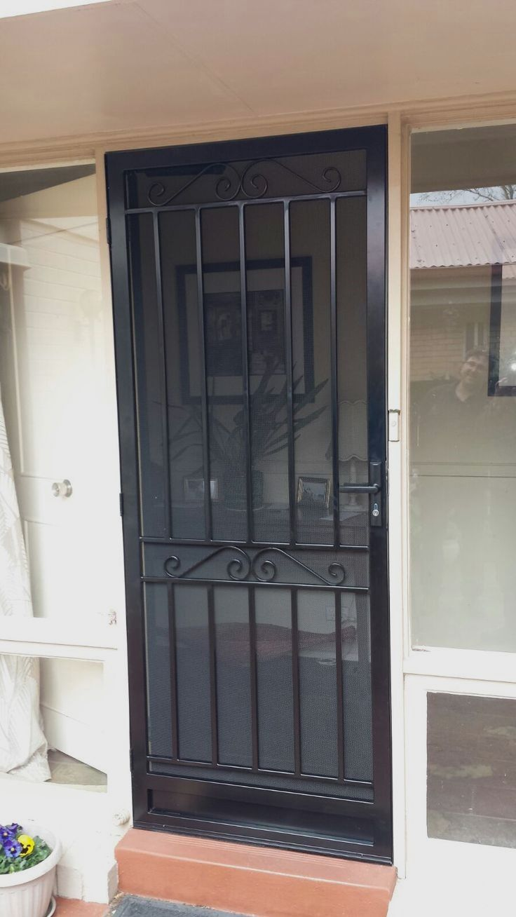 Security Doors Gold Coast In 2020 Security Screen Door Steel Security Doors Door Gate Design