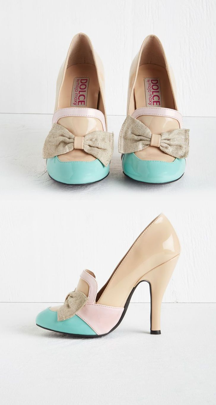 Modcloth: Spring is in the Aria Heel