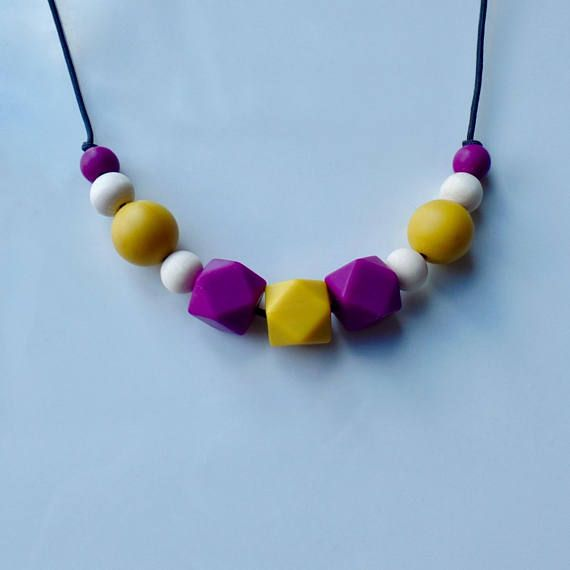 Hey, I found this really awesome Etsy listing at https://www.etsy.com/ca/listing/562744818/nursing-necklace-mommy-necklace-teething