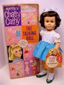 Chatty Cathy Doll!  oh. my. gosh.  I had her!! I almost forgot all about her!  How vintage!