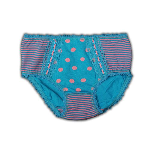 Claesen's Winter 15Product Claesen's Girls Dots & Stripes Brief 2 PackProduct code W15CL129908.F.DS