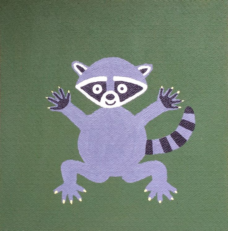 Huggy Raccoon