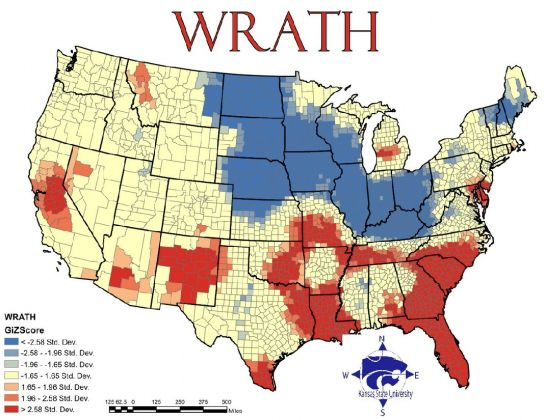 Best US Maps Images On Pinterest United States Cartography - Is there a color coded map of us crime