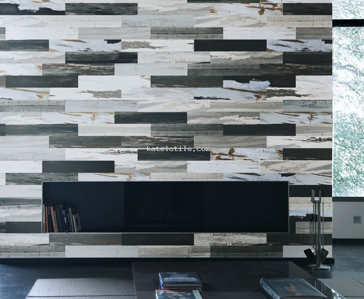 Tiled fireplace Timberline contemporary wood Porcelain Tile. 70 best ideas about Hardwood Inspired Porcelain Floors on