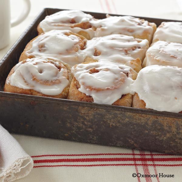 Gooseberry Patch Recipes: Iva's Cinnamon Rolls