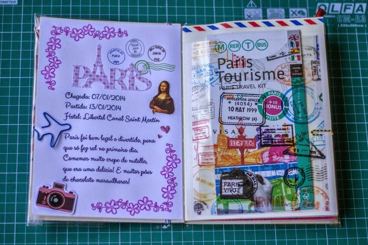 Scrap Trip: Álbum de viagem: Paris - página 1