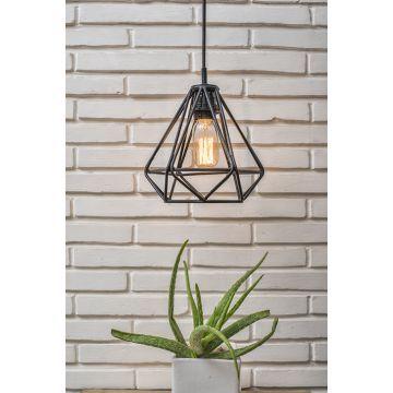 Untold Homes Black Diamond Pendant Lamp