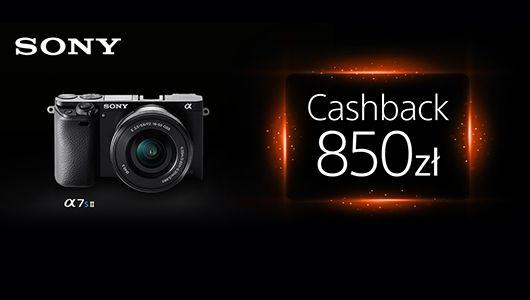 Sony Cashback A7S II i A7RII