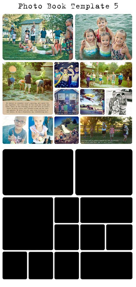 Free Project Life/Digital Photo Book Templates - My Crazy Life as a Farmers Wife Классные шаблоны для Photoshop