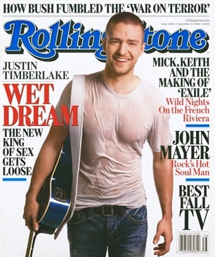 Justin Timberlake on the September 21, 2006 cover in the wake of the release of   'FutureSex/LoveSounds.' #longreads