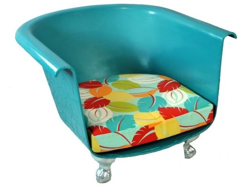 RePurpose : RePurposed Bathtub Chair     30% Off Sale Happening Now  http://shop.repurposeshop.com/