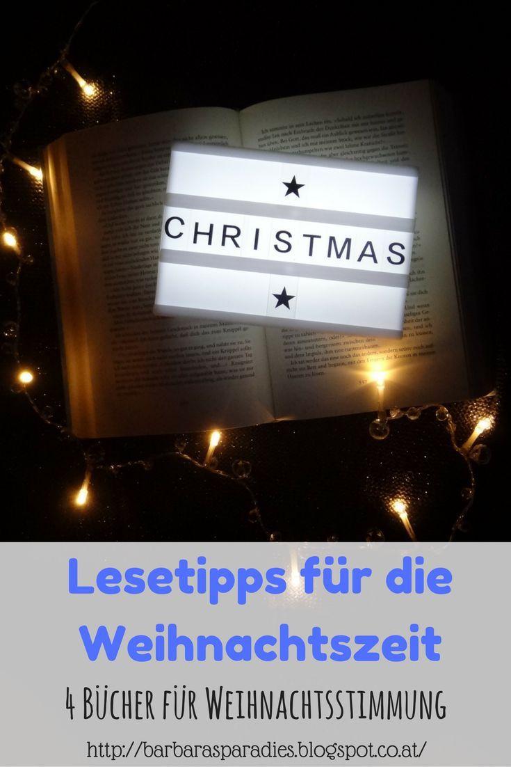 Lesetipps für die Weihnachtszeit: 4 Bücher für Weihnachtsstimmung ...