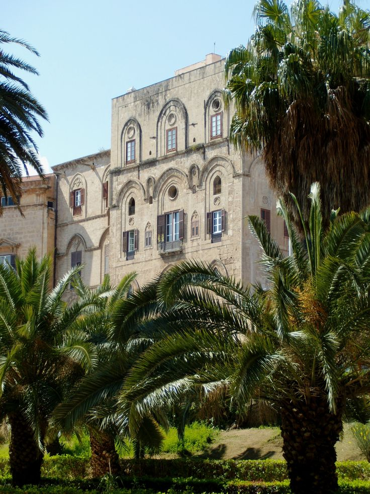 The Palace of the Normans in Palermo