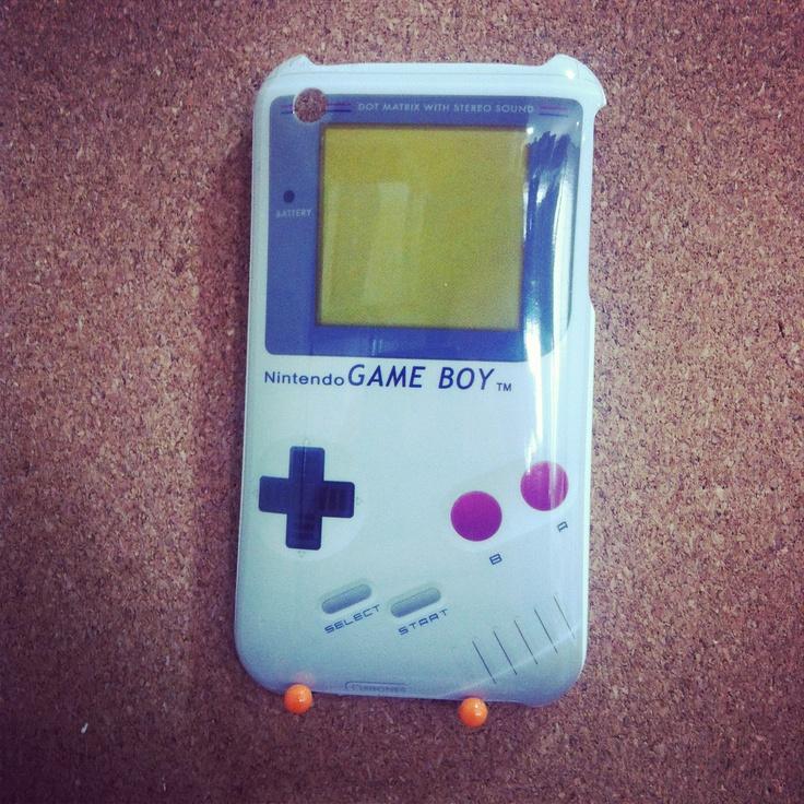 Capa Rígida de Game Boy para iPhone 3/3GS