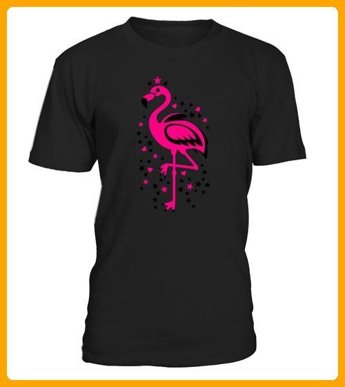 Flamingo Pink Magic Exsotic Bird Star stars Birds - Flamingo shirts (*Partner-Link)