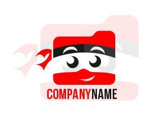 logo folderninja Logo design - this logo for folder storage company need ninja mascot icon Price $100.00