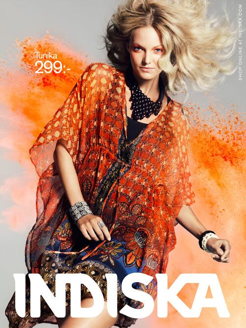 Indiska Add color campaign – Made To Order