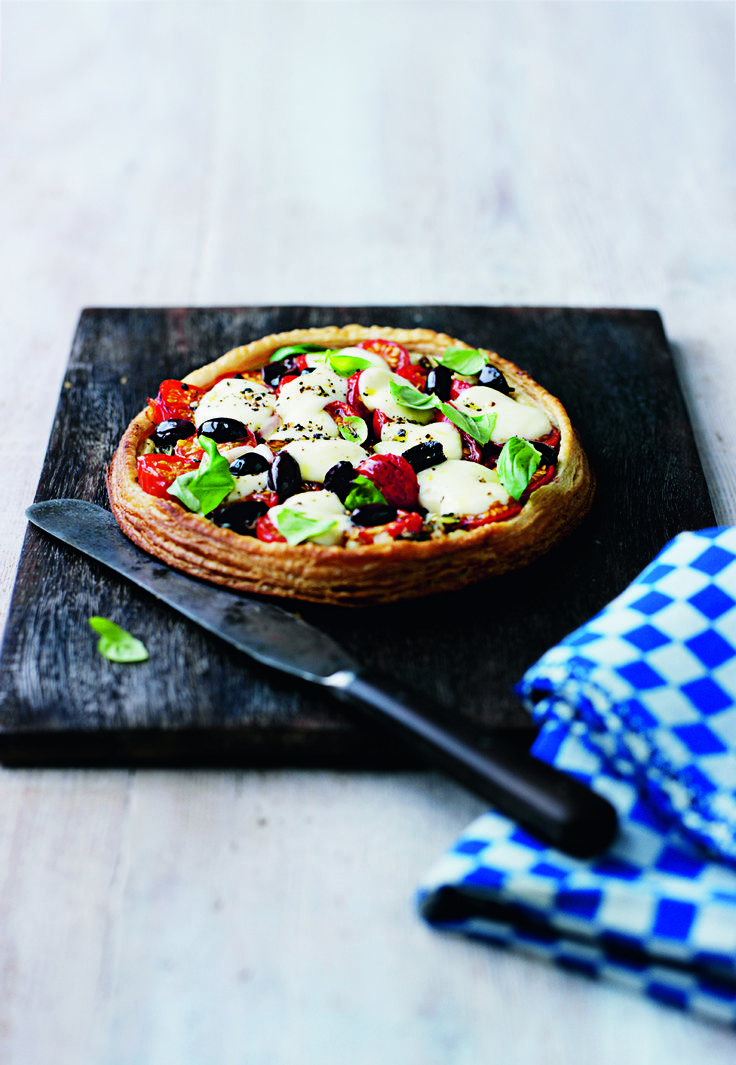 You can vary the toppings on Raymond Blanc's summery tart – see tip.