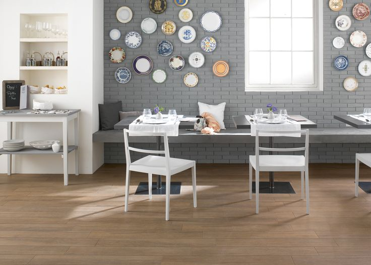 #Planet | wood-effect floor covering | porcelain stoneware | #Marazzi