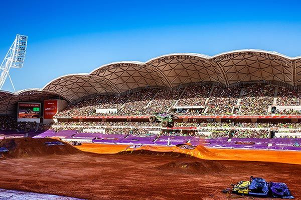 "BIGGEST GIVEAWAY YET! #WIN 4 tickets plus pit passes to Monster Jam Melbourne!   Leave a comment answering this question, ""Why would hubby or dad love to win tickets to Monster Jam in Melbourne?""  #monsterjam Monster Jam​ #family #FathersDay #dads #mums #parents #kids #Melbourne #giveaway #comp #competition #prize #monstertrucks #highpoweredvechicles"