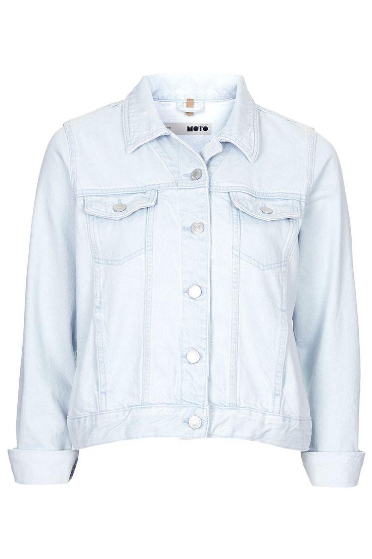 MOTO Ice Bleach Western Jacket