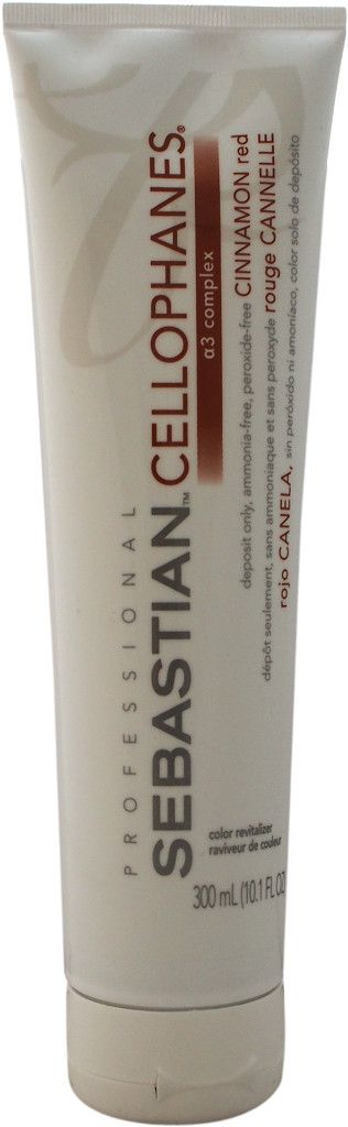 Sebastian Professional - Cellophanes - Cinnamon Red Hair Color 10.1 oz.