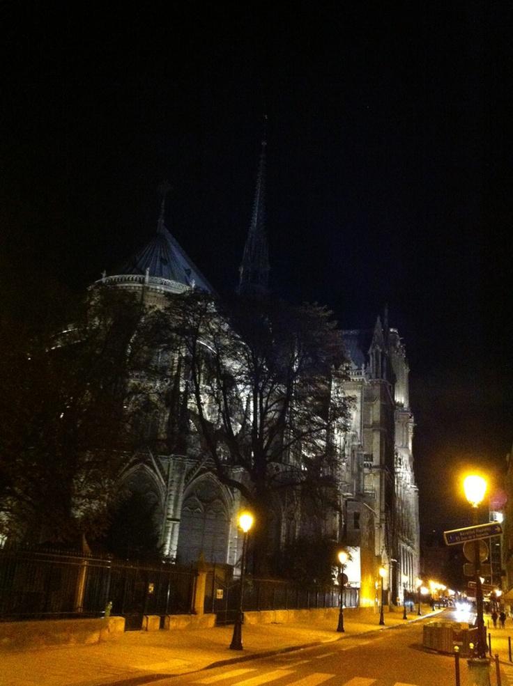 I like this side too…  Notre Dame, Paris
