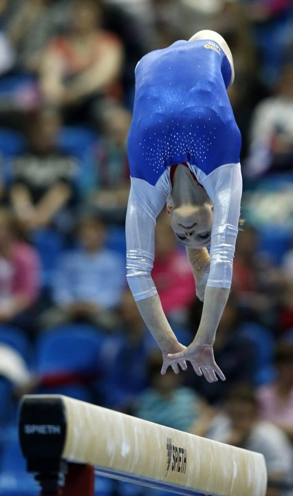 I think this is interesting because I like gymnastic and the balance bean is very difficult.