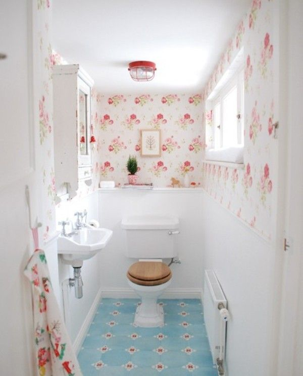 Shabby Chic Bathroom Decor In 16 Admirable Ideas   Nove Home