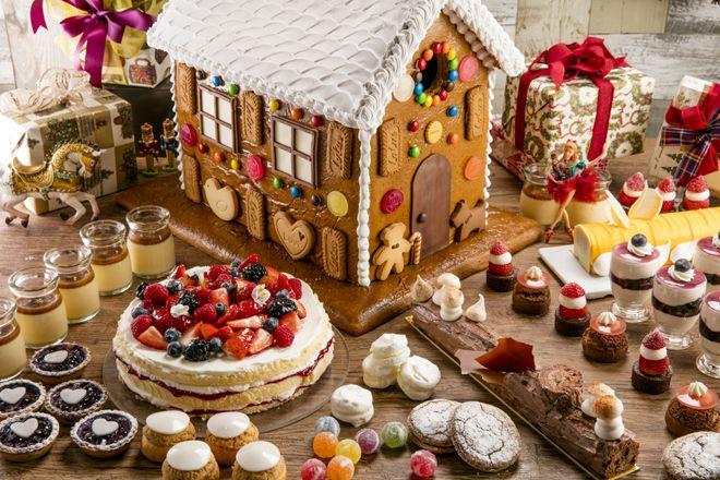 ヒルトン東京にヘンゼルとグレーテルのお菓子の家が出現