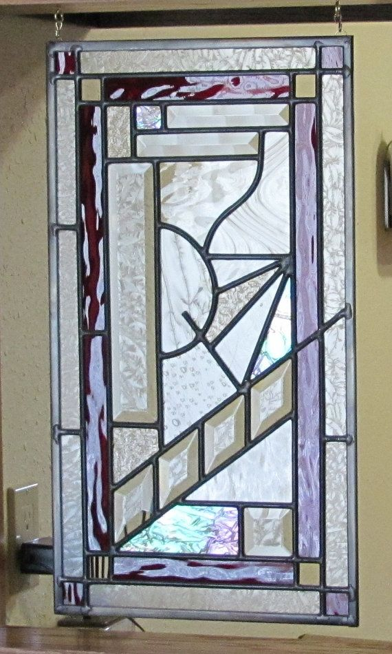 Beautiful Stained Glass Panel Custom Made By WittichStainedGlass