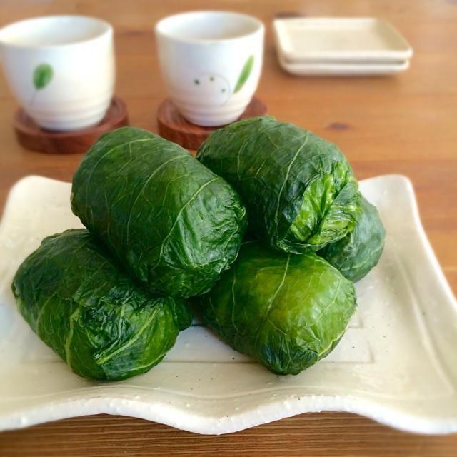 高菜の醤油漬けを頂いたので さっそくお昼にめはり寿し(๑´ڡ`๑) - 150件のもぐもぐ - めはりずし♡ by satohayaami
