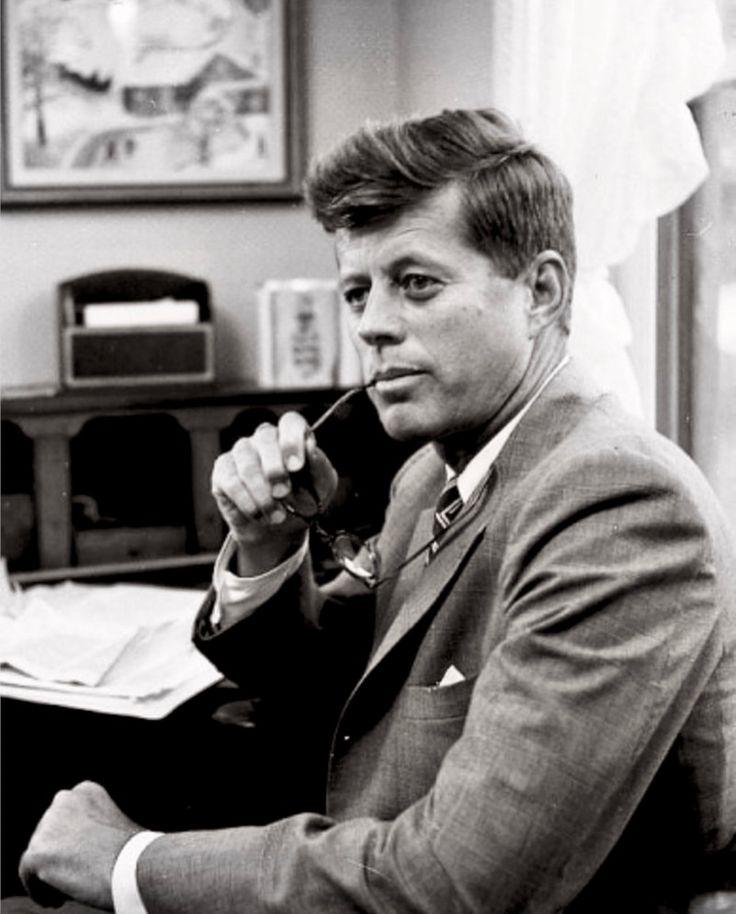 """John Fitzgerald Kennedy, también conocido como """"JFK"""" presidente 35 de los Estados Unidos (29 de mayo de 1917 - 22 de noviembre de 1963)"""